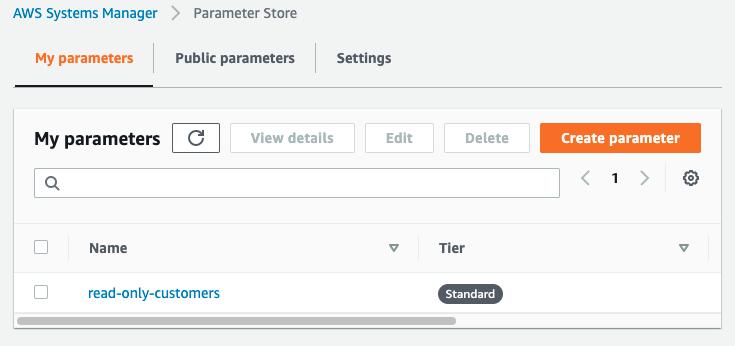 Show Parameters