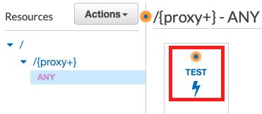 Test the Proxy API Gateway